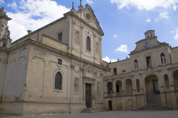 Piazza Duomo in Lecce, Puglia, Italy