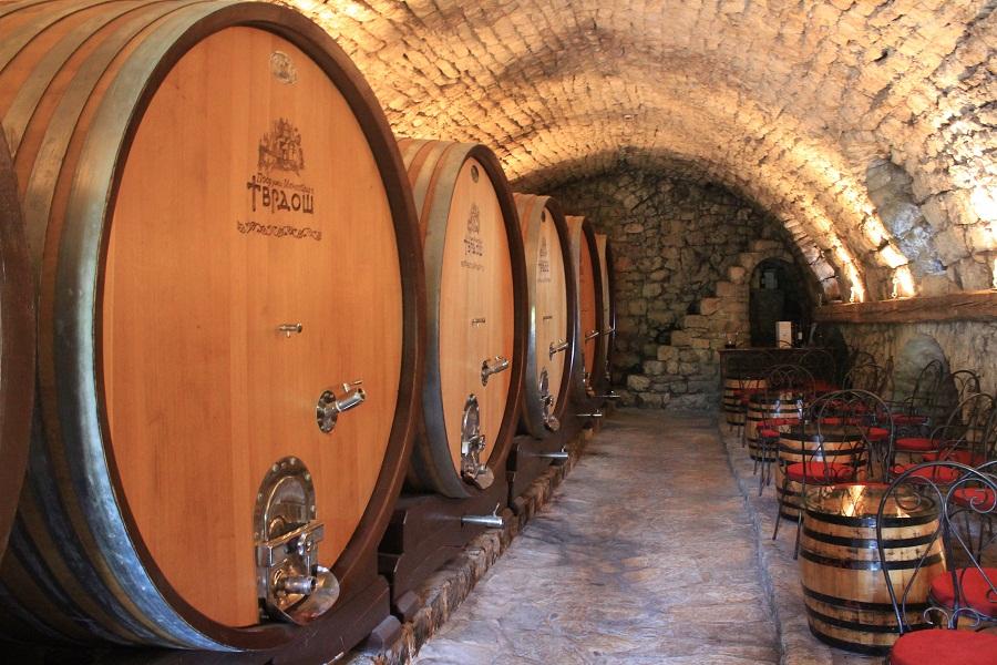 Tvrdoš-Monastery-barrels