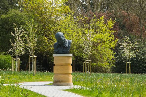 The Winston Churchill Memorial Garden at Blenheim Palace