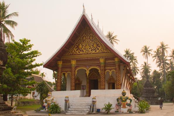 Wat Aham Qutama Thang temple in Luang Prabang