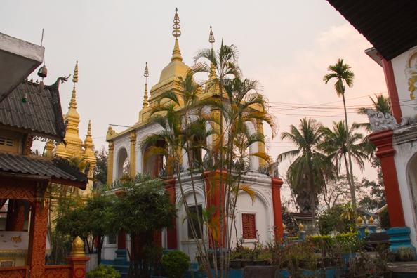 Wat Prabaht Tai in Luang Prabang