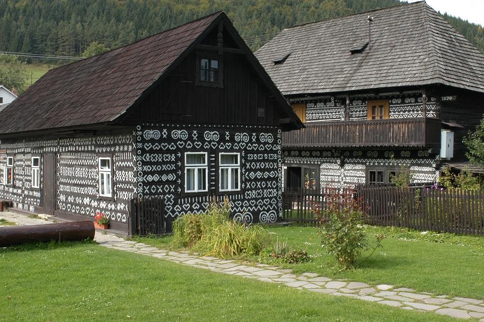 Čičmany-slovakia