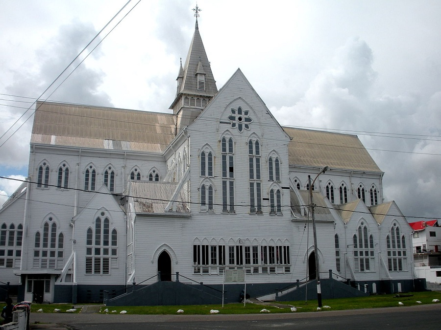 St_George's Cathedral Georgetown Guyana