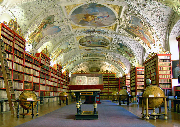 The National Library in the Klementinum