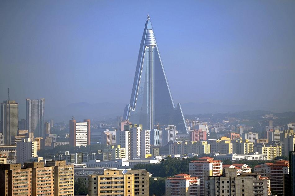 Ryogyong hotel pyongyang