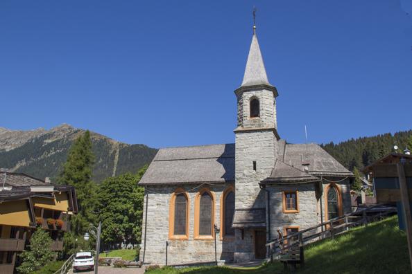 Chiesa di Santa Maria Antica in Madonna di Campiglio in Trentino Italy