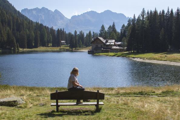 Madonna di Campiglio in the Dolomites: Sissi's Escape
