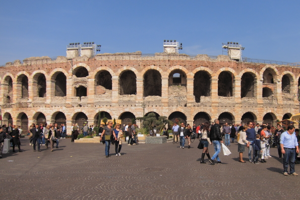 Façades of Verona – Roman and Medieval