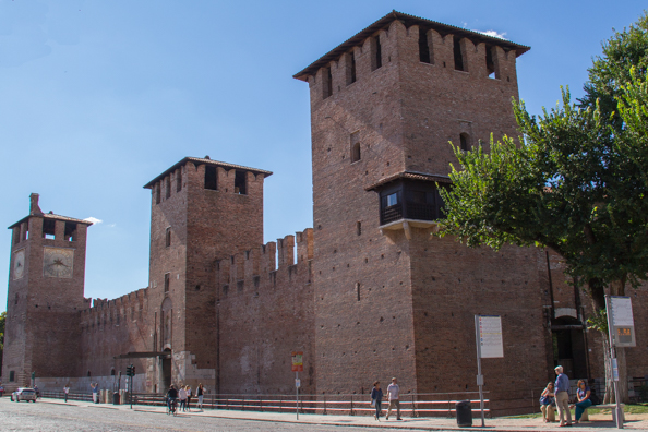 Castelvecchio in Verona, Italy