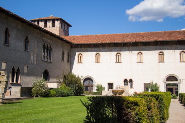 Castelvecchio museum in Verona, Italy