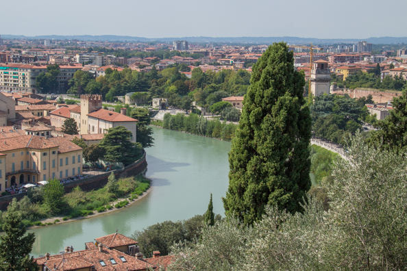 The view from Castel San Pietro in Verona