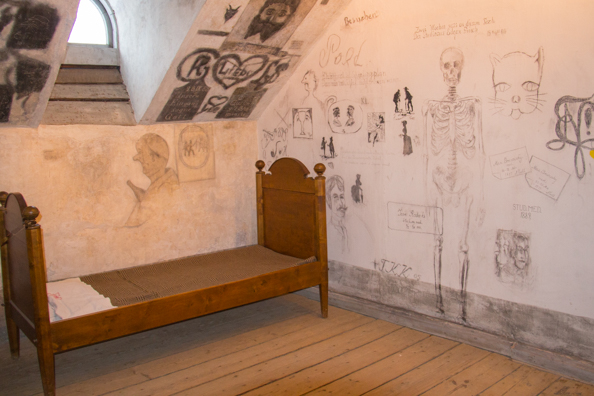 The lock up in the Great Hall of the University in Tartu, Estonia