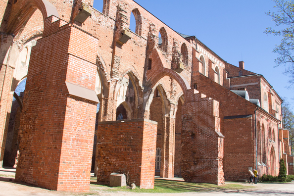 Old Cathedral of Tartu and the University Museum Tartu, Estonia