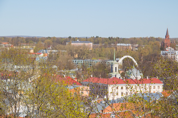 The city of Tartu in Estonia