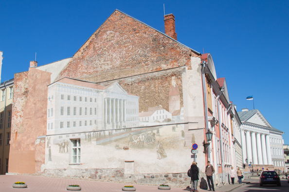 Tartu, the National Treasure of Estonia