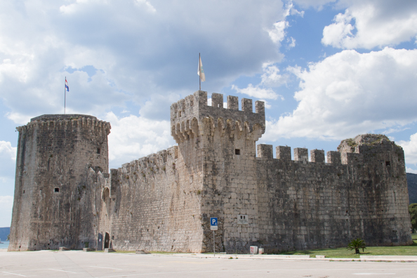 Kamerlengo Castle in Trogir, Dalmatia in Croatia