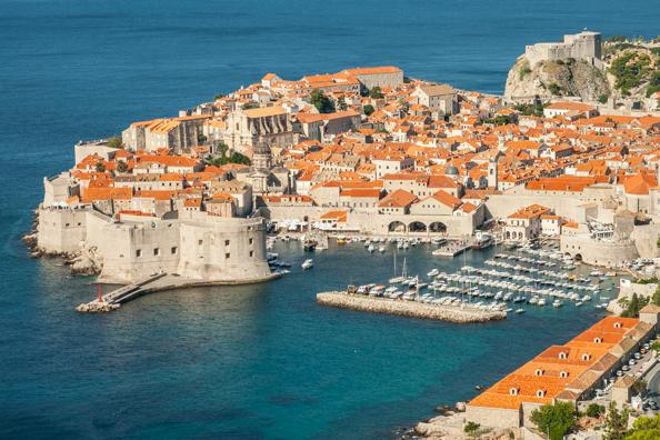 Dubrovnik in Dalmatia, Croatia