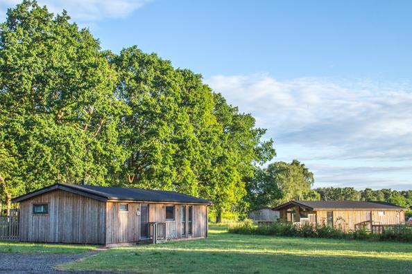 The Lodges at Sherwood Hideaway, near Ollerton, Notts UK