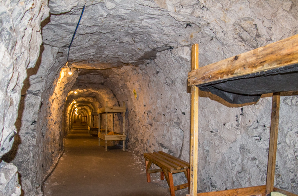 The tunnels in Ramsgate, Thanet in Kent, UK