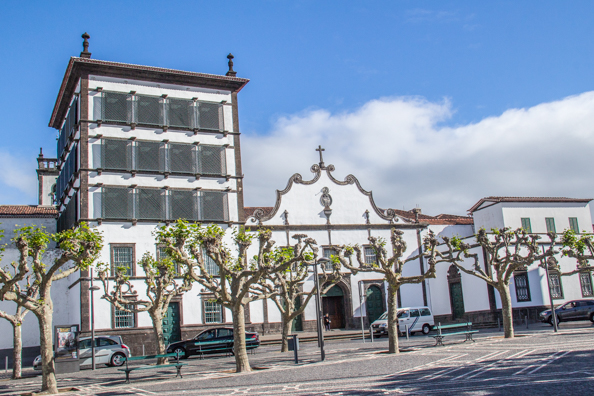 Ponta Delgada in the Azores - Convent and Chapel of Nossa Senhora da Esperança