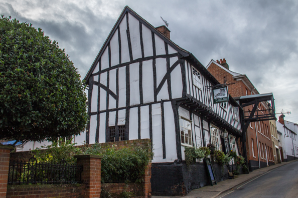 Ye Olde Bell and Steelyard pub in Woodbridge, Suffolk, UK