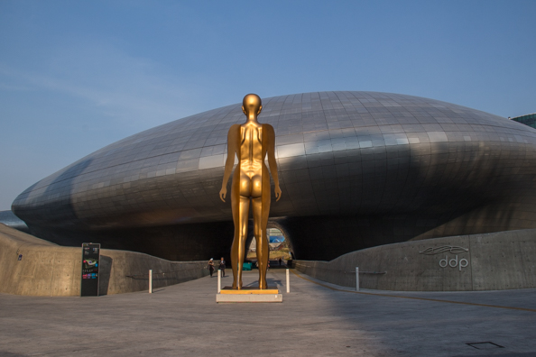 Dongdaemun Design Plaza in Seoul, South Korea