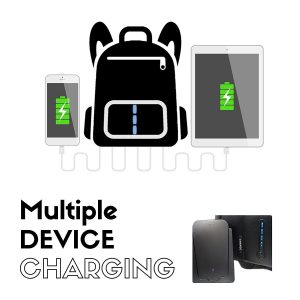 smart backpack charging